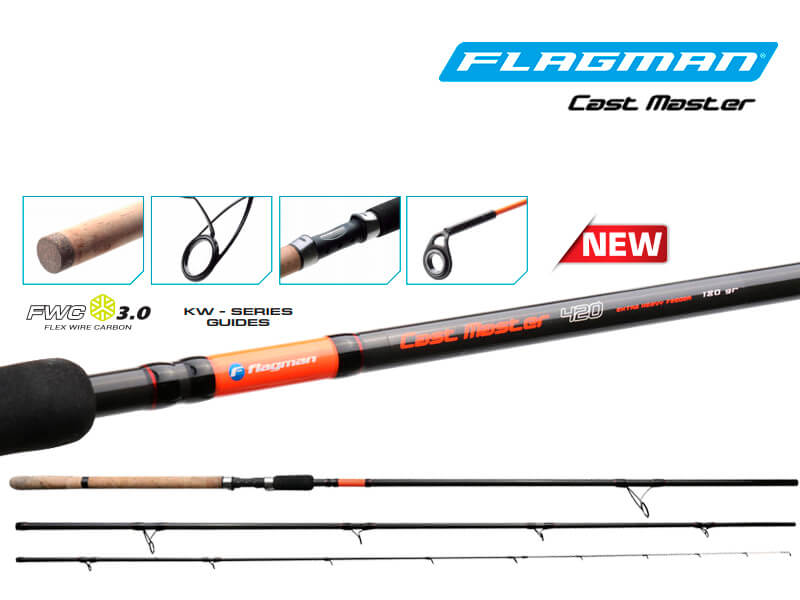 FLAGMAN CAST MASTER FEEDER 420 cm/180 g