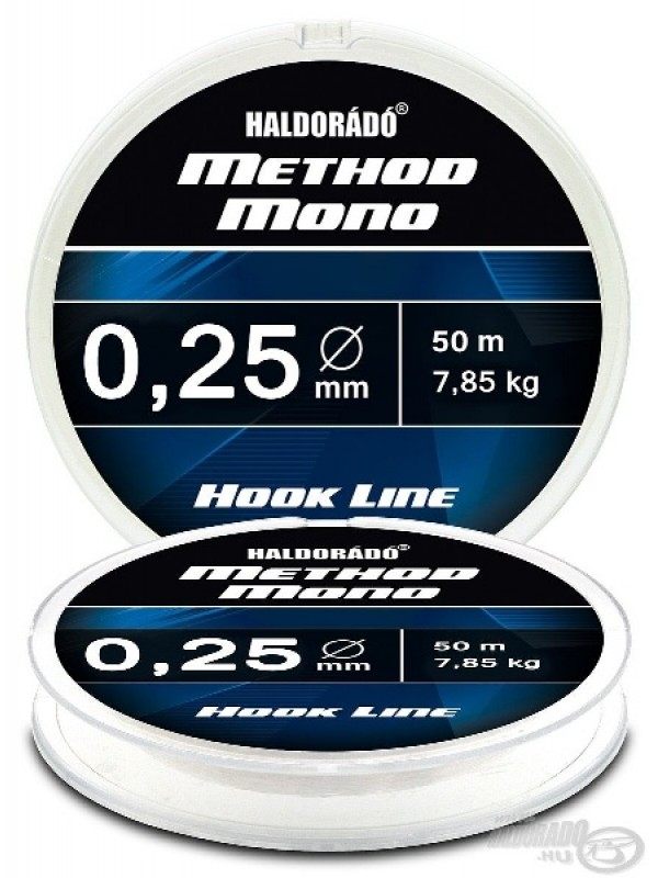 HALDORADO METHOD HOOK MONO LINE - 50M - 0,12mm