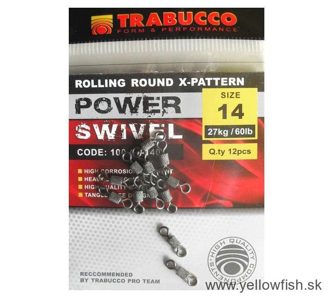OBRATLÍK TRABUCCO POWER SWIVEL ROUND X-PATTERN