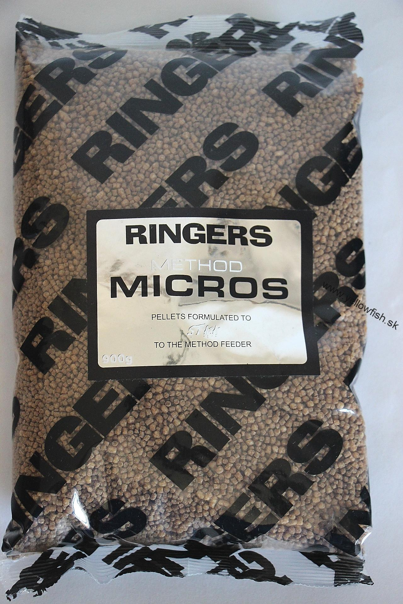 RINGERS METHOD MICROS PELLETS 2MM 900GR
