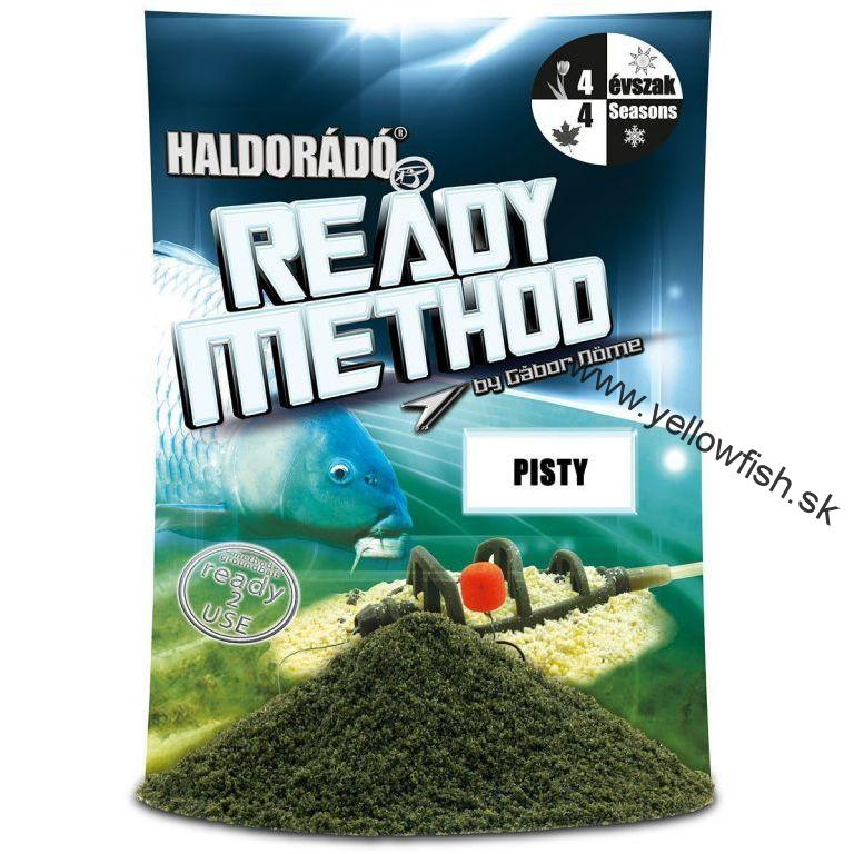 Haldorádó Ready Method - Pisty - NOVINKA 2018