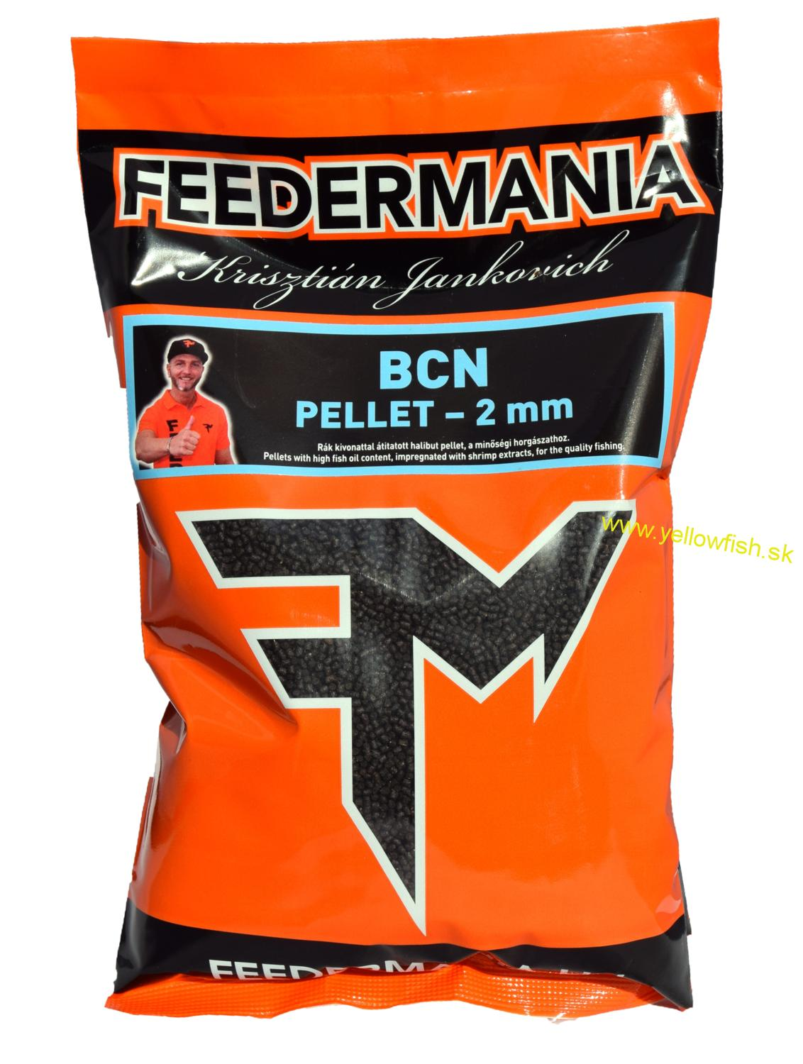 FEEDERMANIA PELETY 2MM - BCN 800G