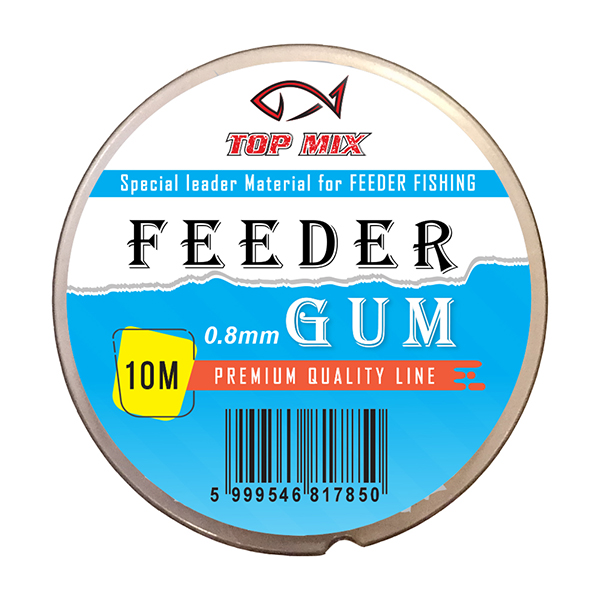 TOP MIX FEEDER GUM - 0,8MM 10M