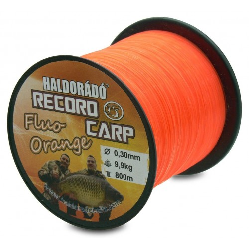 Silon HALDORADO RECORD CARP FLUO ORANGE 0,22 900M