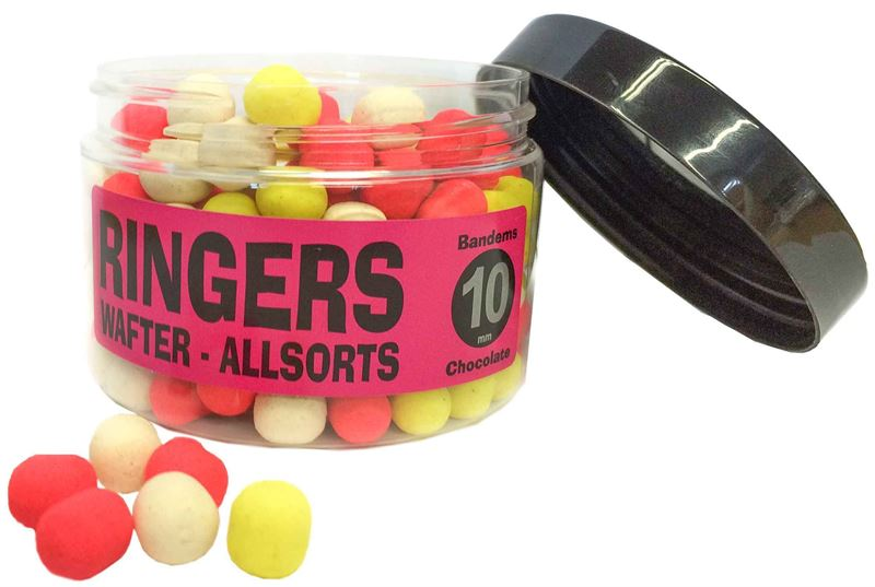 Ringers All Sort Wafter 10mm - DUMBELL CHOCOLATE