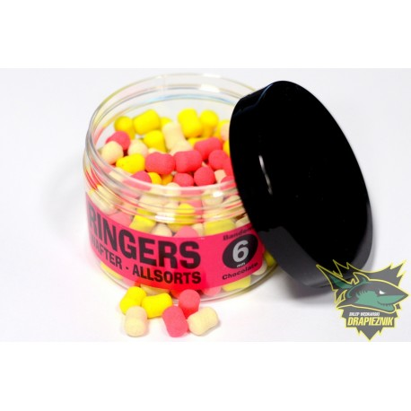 Ringers Banded Allsorts Wafters 6mm