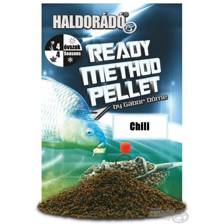 Haldorádó Ready Method Pellet - Chilli
