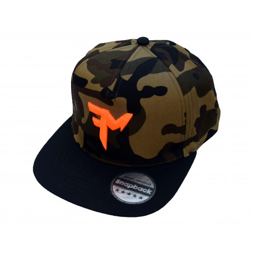 ŠILTOVKA FEEDERMANIA SNAPBACK  - camo