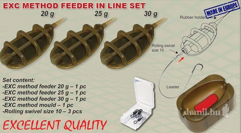 EXTRACARP METHOD FEEDER SET 3+1