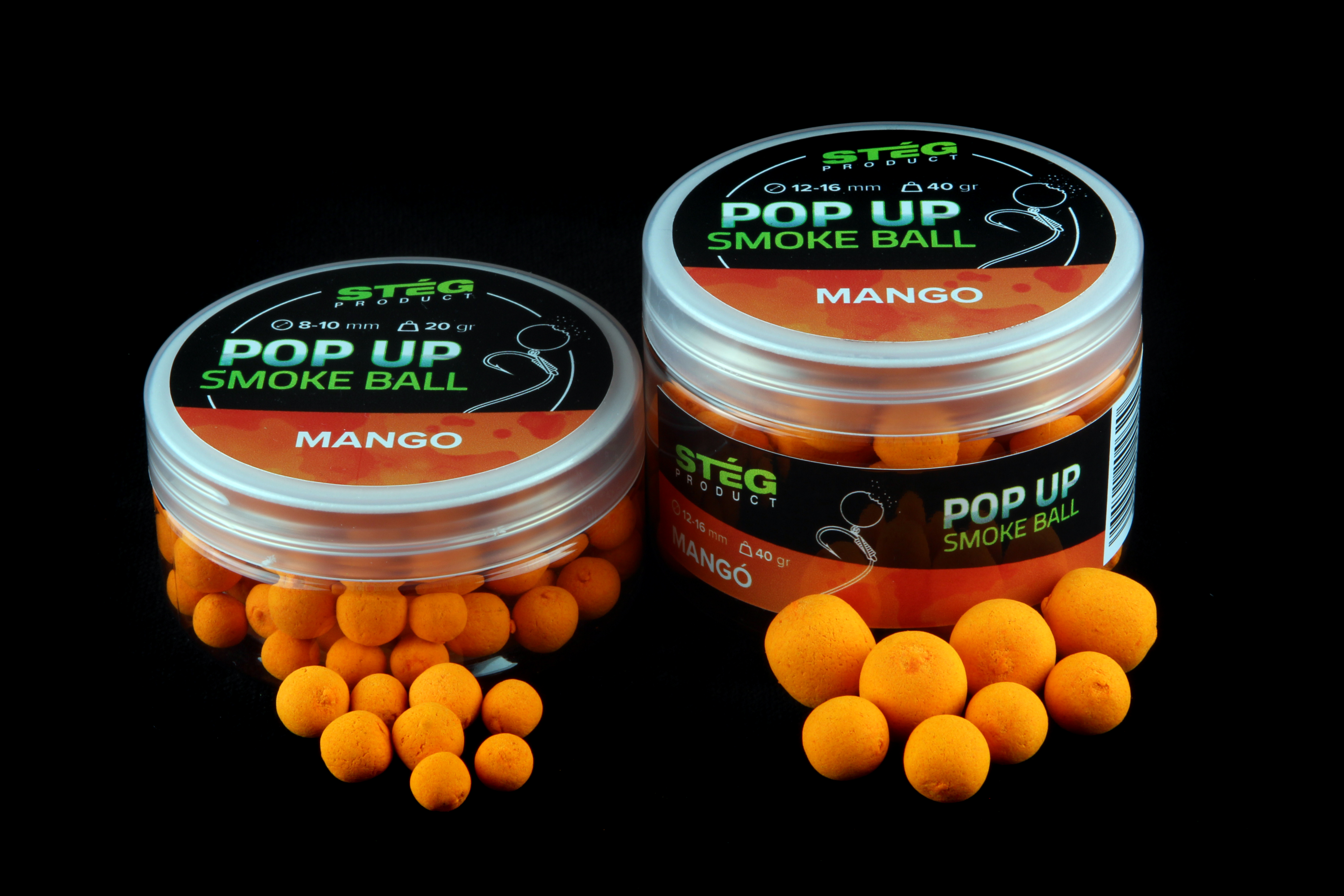 Stég Product Pop Up Smoke Ball 12-16 mm MANGO 40gr (SP171338)