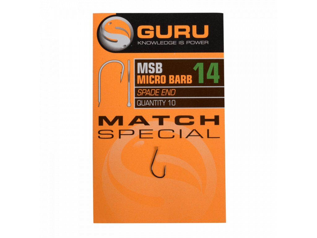 GURU Match Special Barbed hook