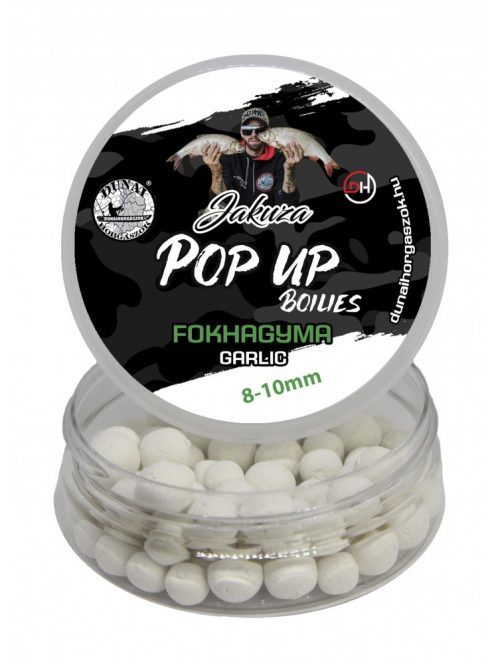 POP-UP JAKUZA 8-10mm - Cesnak / NOVINKA 2021