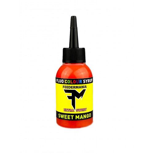Feedermania FLUO COLOUR SYRUP SWEET MANGO 75 ML