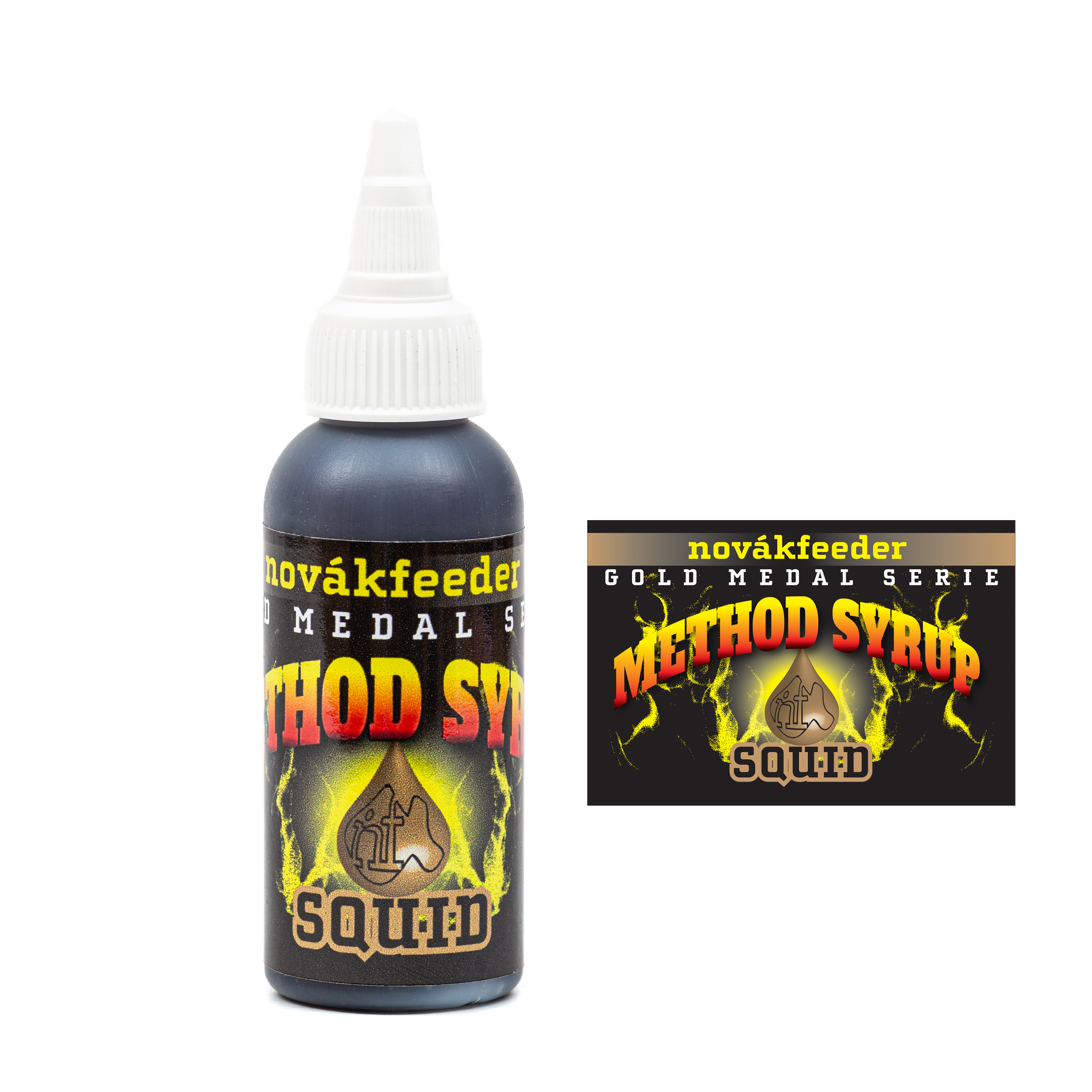 Novák Feeder Method syrup 60ml - Squid
