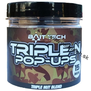 Boilie Boilies Triple-N Pop-Ups 15mm, NOVINKA 2017